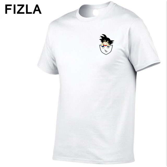 36ad11c9 2018 New Dragon Ball T Shirt Men Summer Dragon Ball Z super son goku Slim  Fit Cosplay 3D T-Shirts Streetwear Tshirt Homme Tops