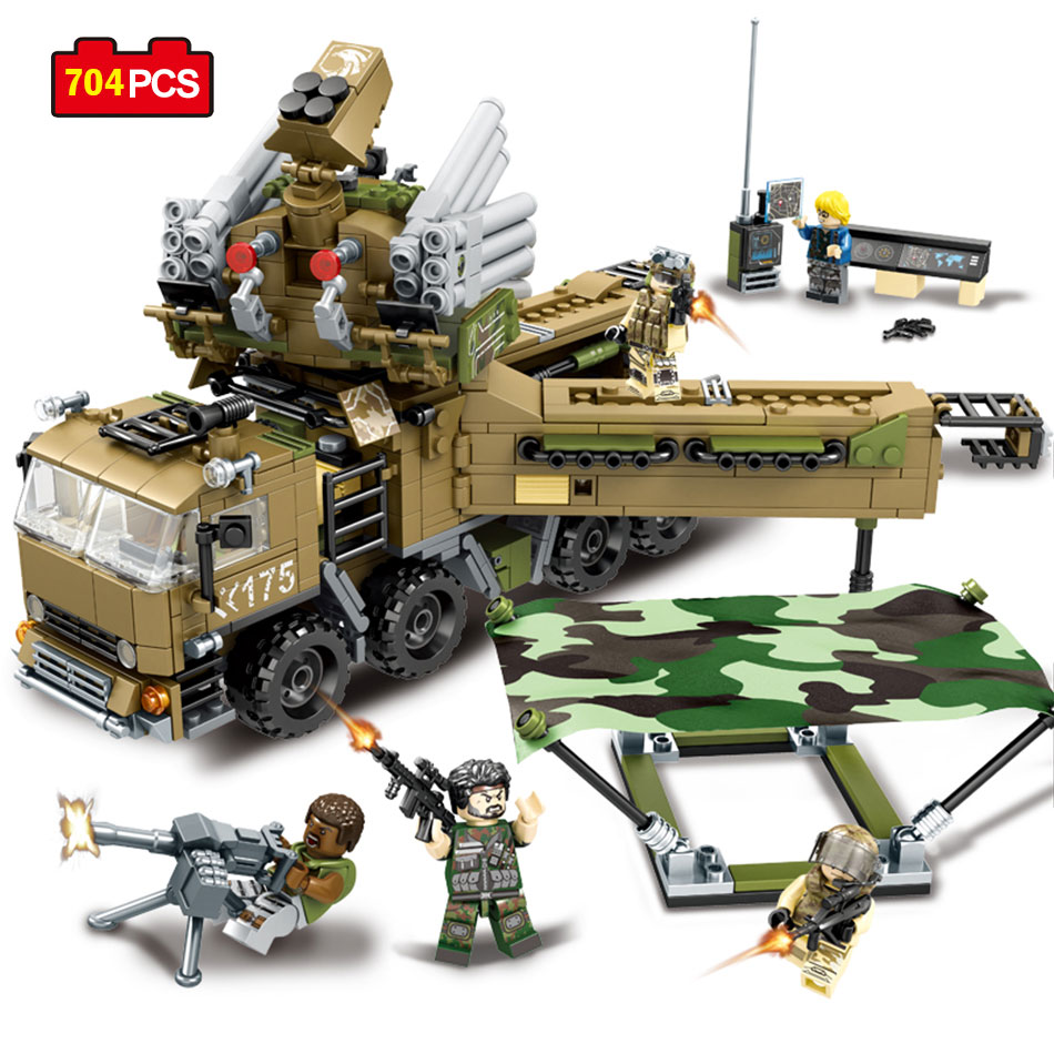 Sembo Blocks Military Army Action Toy Figures Weapon Building Blocks Enlighten Toy For Children Christmas Gift Compatible Legos enlighten 1406 8 in 1 combat zones military army cars aircraft carrier weapon building blocks toys for children