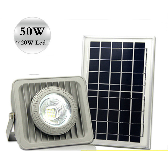 Solar flood light 50w brightness floodlight billboard outdoor led solar flood light 50w brightness floodlight billboard outdoor led garden roof spotlight square parking lot light mozeypictures Images