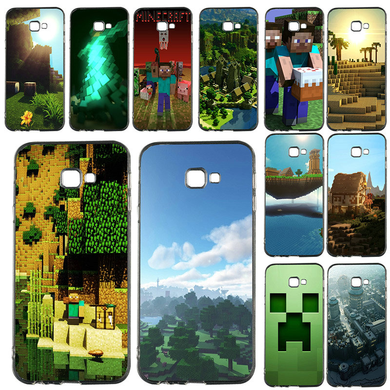 Games Group Minecraft Soft TPU Transparent Mobile Phone Cases For ...