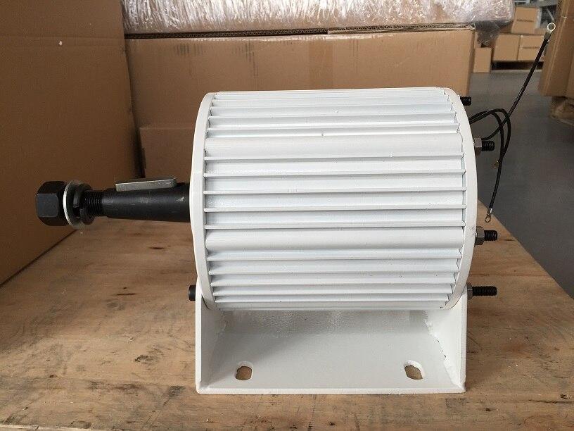 2632c8fbd8a La mejor compra 2018 Top promoción moda Generador eólico Gerador De energía  48vac Generador 2kw alternador magnético permanente