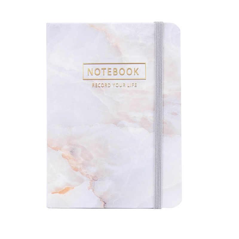 ญี่ปุ่นเครื่องเขียนการออกแบบหิน Notebook Hard Cover A6 A7 Planner Notepad ไดอารี่โรงเรียนอุปกรณ์สำนักงาน Escolar