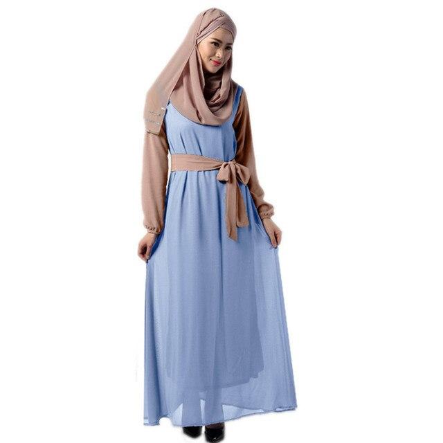 Hijab langen kleid pakistanischen kleider für frau abaya robe longue ...