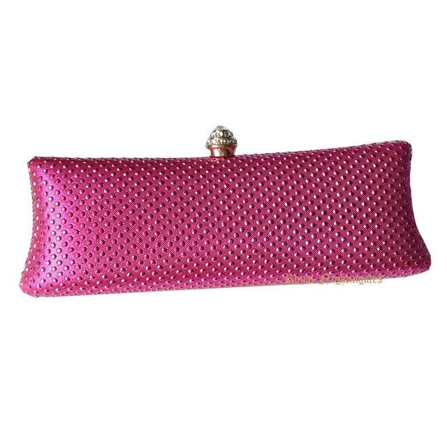 422721977b Wholesale Hard Case Women Box Clutch Purse with Crystal Rhinestone Clutch  Evening Bags