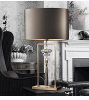 Европейский стиль настольный свет Гостиная кисточки декоративные настольные лампы синий зеленый исследование спальня модель бюро свет