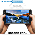 Doogee X7 pro mobile phones 6.0Inch HD 2.5D IPS 2GB RAM+16GB ROM Android6.0 Dual SIM MTK6737 Quad Core 8.0MP 3700mAH WCDMA LTE