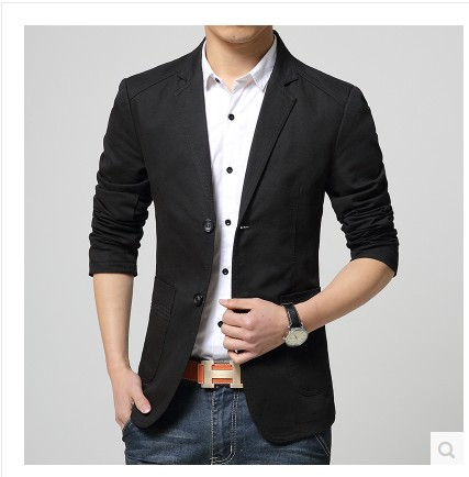 Online Get Cheap Coat Button Suit Business Men Formal Suit Jacket