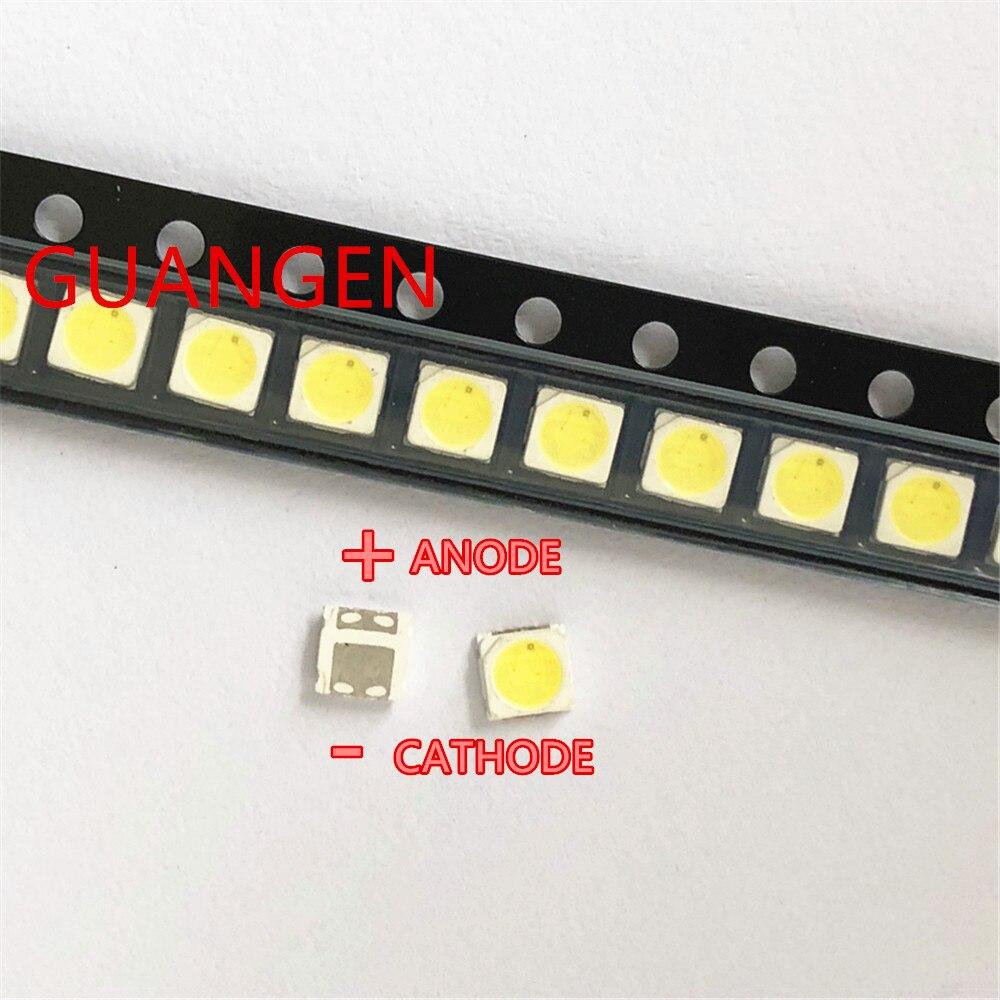 150PCS For EVERLIGHT LED Backlight TV High Power LED DOUBLE CHIPS 1.5W 3V 3030 Cool White PT30A66 TV Application