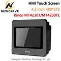 Kinco MT4230T MT4230TE HMI Сенсорный экран 4,3 дюймов 480*272 Ethernet 1 USB хост новый интерфейс человека машины Newcarve
