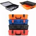 520x335x130mm Instrument case ABS Plastic Toolbox Beschermende Veiligheid case Opbergdoos Apparatuur Case Outdoor Veiligheid apparatuur