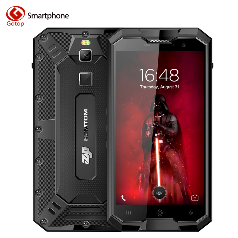 HOMTOM ZOJI Z8 IP68 Waterproof MT6750 Octa core Cell Phone 5.0 inch Android 7.0 Smartphone Ram 4GB+Rom 64GB 4G LTE Moblie Phone