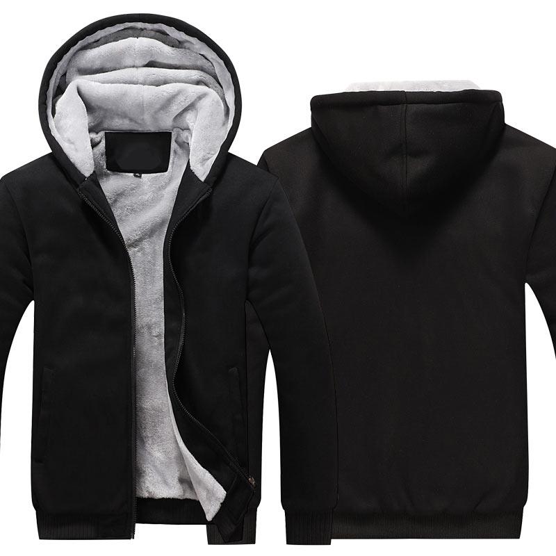 Sudaderas con cremallera sudaderas chaquetas hombres y mujeres invierno espesar Abrigo con capucha UE ee.uu. tamaños Dropshipping al por mayor Nuevo 2018