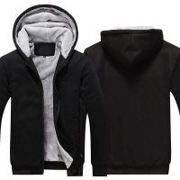 Zipper Hoodies Sweatshirts Jackets Men and Women Winter Thicken Hooded Coat EU US sizes Dropshipping Wholesale New 2018
