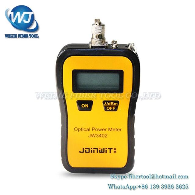 cc92b2afd54 JoinWit Mini Fiber Optical Power Meter JW3402 -50~+26dBm high precison handheld  fiber