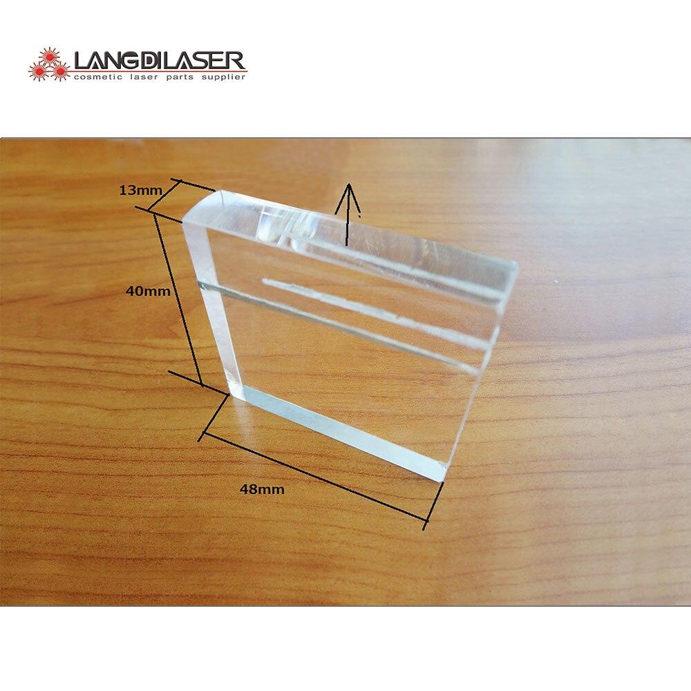 optical light guide crystal window
