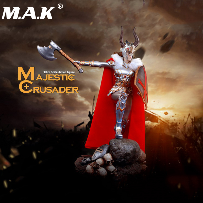 1/6 PL2017-108 Majestic Crusader Female Knight Action Figure for Collection Gifts Toys damtoys 1 6 gangsters kingdom side story neil gks004 for 12 action figure collection toys gifts in stock
