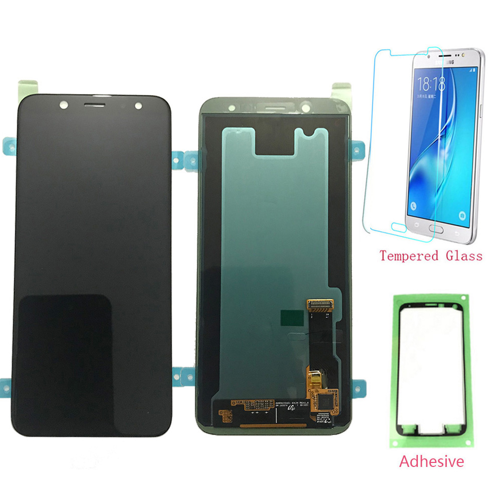 Test LCD 5.6'' For Samsung Galaxy J6 2018 J600 J600F J600G Touch Screen Digitizer LCD Display For Samsung J6 2018 J600 Original