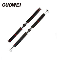 100kg/120kg Adjustable Pull Up Horizontal Bar door Home Gym Bar Exercise Workout Chin Up Parallel Bars Sport Fitness Equipment