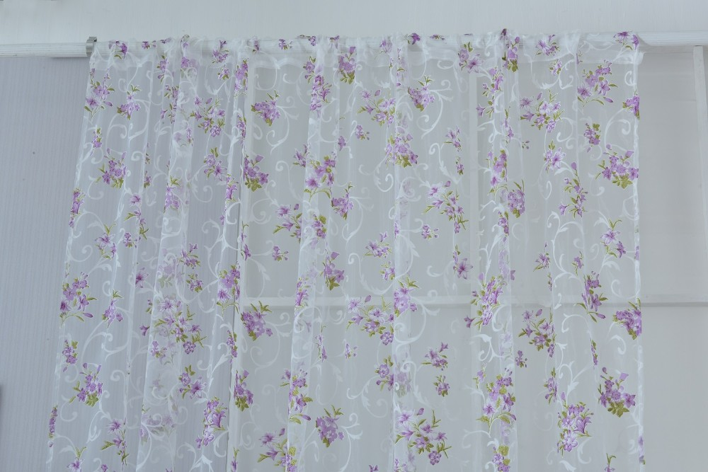 purple tulle curtain (3)
