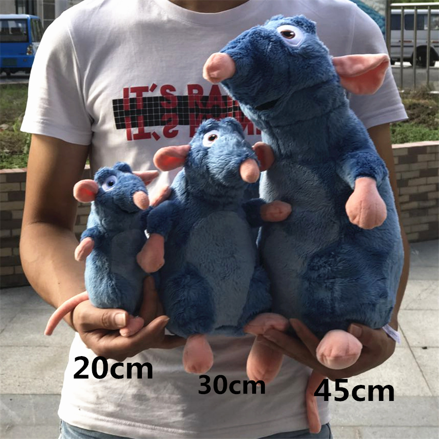 1pcs Ratatouille Remy Mouse Plush Toy Soft Stuffed Animals Kids Toys For Children Gifts