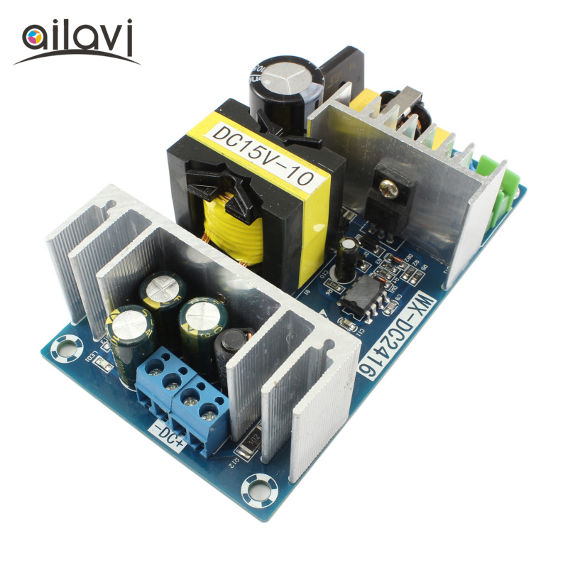 150W Switching Power Supply Module AC110V <font><b>220V</b></font> <font><b>To</b></font> DC <font><b>15V</b></font> 10A High Power Industrial Power Module AC-DC Power Supply Converter image