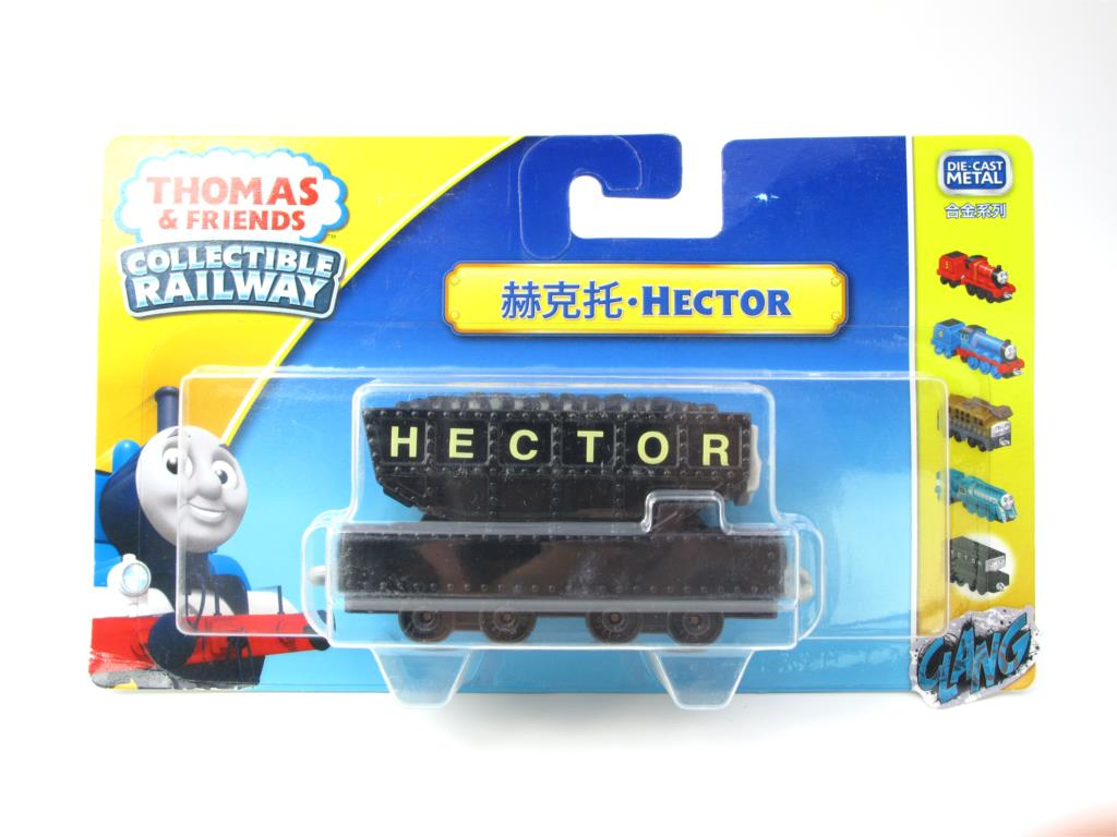 1:64 Diecasts Vehicles Thomas T067N Hector Thomas And Friends Magnetic Tomas Truck Engine Railway Train Toys for Boys NIB