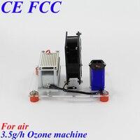 To Lithuania Serbia Iceland Pinuslongaeva 14g/h 3.5 5 7 10gram E1 simple ozone air disinfection machine car ozone air purifier