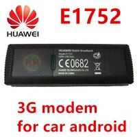 Huawei 3g modem e1752 e1752c 3g dongle adaptador de lan para android carro dvd módulo mesmo pk huawei e1750 e173 e1750