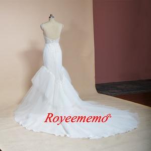 Image 5 - 2019 không tay mermaid lace wedding dress hot bán wedding gown tùy chỉnh thực hiện nhà máy bán buôn giá bridal dress
