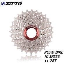 Ztto estrada bicicleta peças 10s 20 s 20 velocidade roda livre cassete roda dentada 10s 11-28t compatível para peças 5600 5700 105 k7 rival