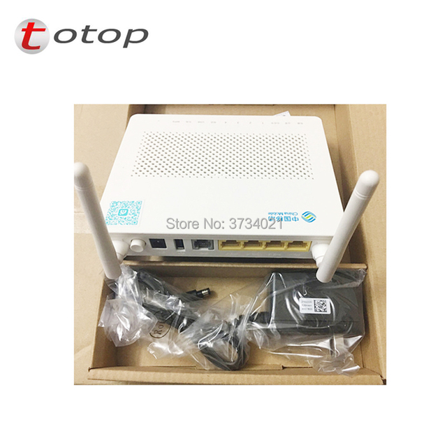 Free Shipping Huawei HS8545M GPON ONU ONT with 1GE+3FE ports+1 phone port+2 antennas with wireless function 802.11BGN