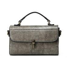 Frauen handtasche mode vintage feststellknopf tasche beiläufige handtasche umhängetasche