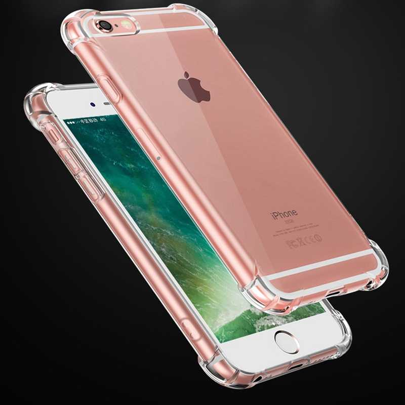 Phone Cases For iPhone 11 Pro Max X 8 7 6 6S Plus X XS XR Fundas Back Cover For 5 5S SE Silicone Soft TPU Transparent Coque Capa