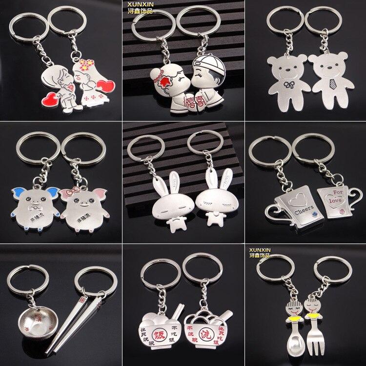 Креативный металлический брелок «апид», День Святого Валентина, сотни странных и эксцентричных пятен, распродажа|metal keychain|valentine
