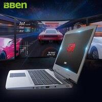 BBEN G16 15 6 Win10 Laptop Gaming Computer Intel I7 7700HQ CPU NVIDIA GTX1060 1920 1080FHD
