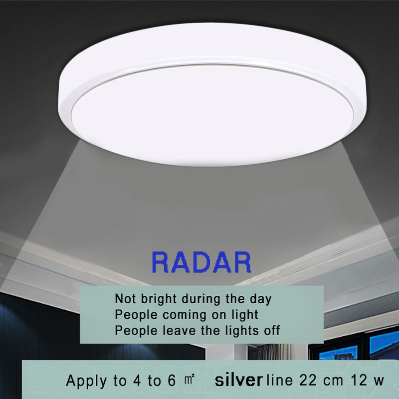 Ceiling Lights  Radar Human Sensor LED lamp For Living Room Home lights Human induction  ceiling Fixtures luminaria ledCeiling Lights  Radar Human Sensor LED lamp For Living Room Home lights Human induction  ceiling Fixtures luminaria led