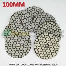 Площадку, гранита мрамора шлифовальный полировки дюйм(ов) b алмаз сухой диск без
