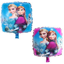 18 polegadas Ice snow Queen Princesa Elsa balões foil balão globos 30 pcs feliz aniversário decorações do partido crianças presentes brinquedos wholesal