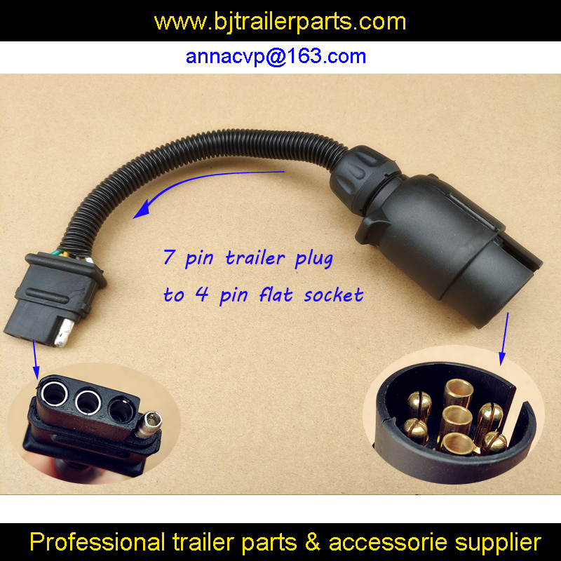 7 flat wiring harness cvp trailer tow wiring harness 7 way european style round trailer  cvp trailer tow wiring harness 7 way