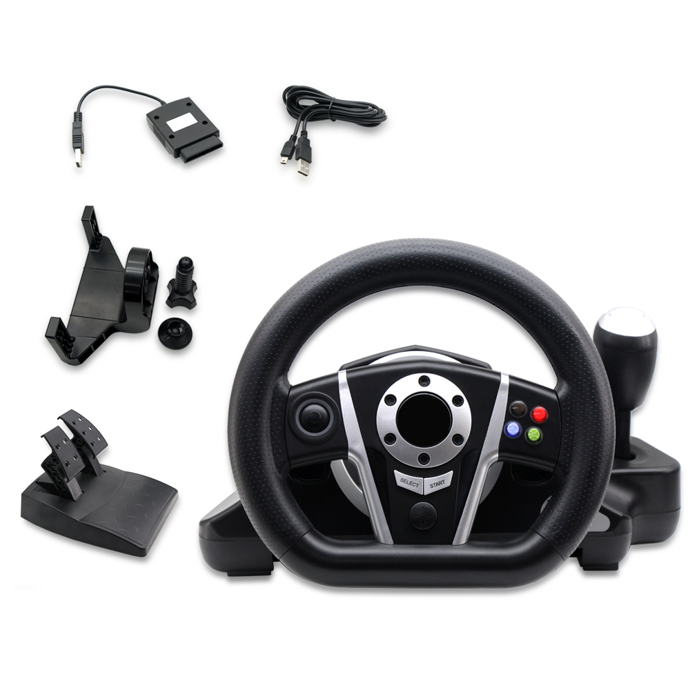New Xbox One Racing Game : New multifunction game steering wheels with pedals for ps
