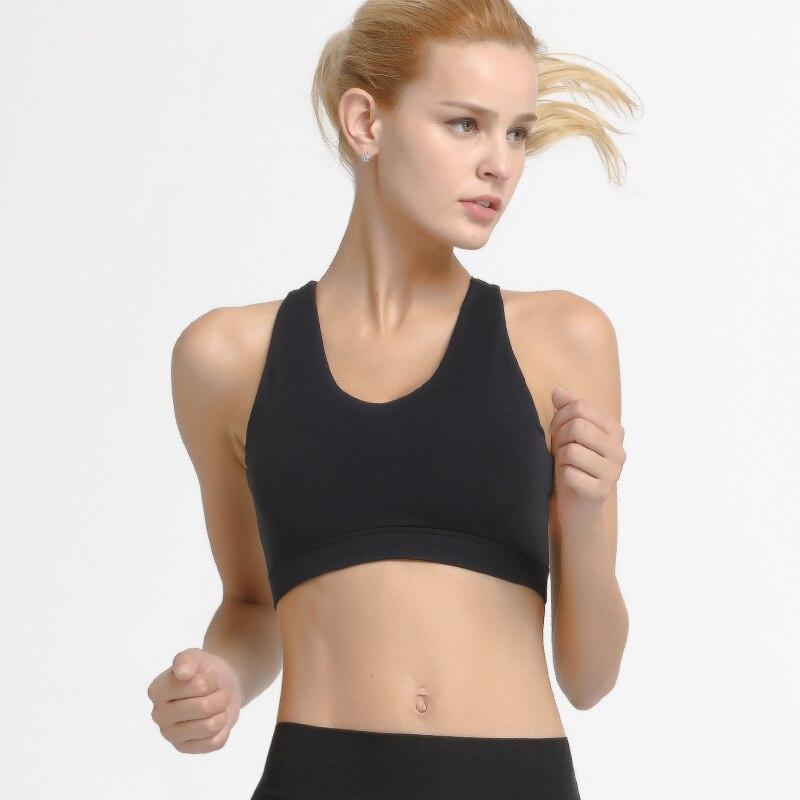 CIM new cross beauty back shock bra running fitness underwear women in Bras from Underwear Sleepwears