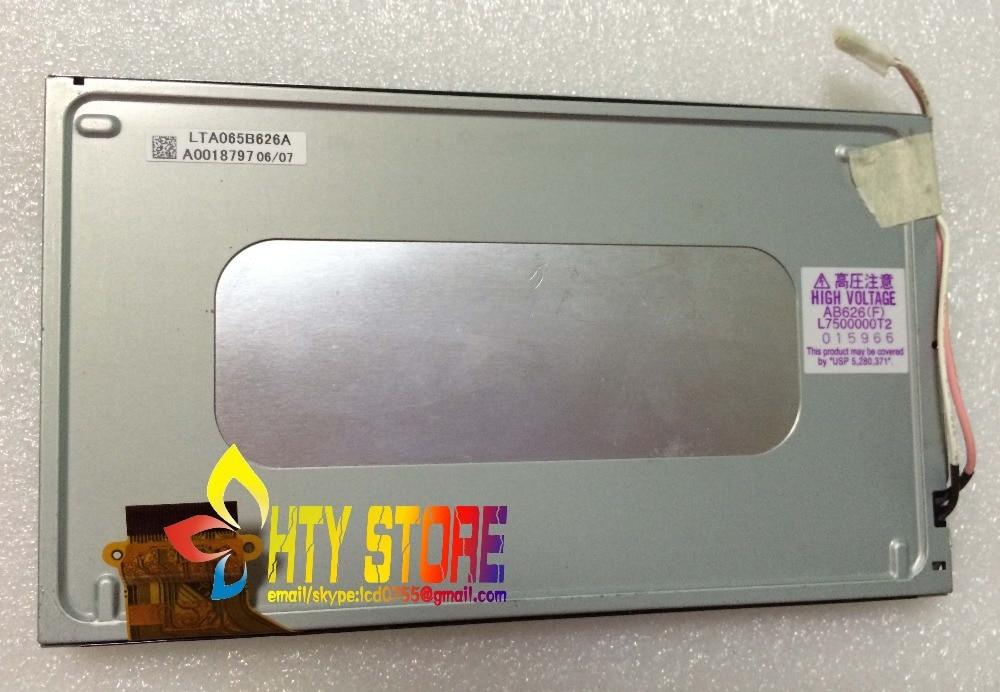 Original 6.5inch LCD screen LTA065B626A for CAR DVD Audio free shipping