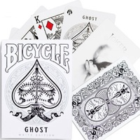 Bicycle Ghost White Legacy Edition Ellusionist Playing Cards Poker Size USPCC Limited Edition Deck Magic Card Magic Tricks Prop