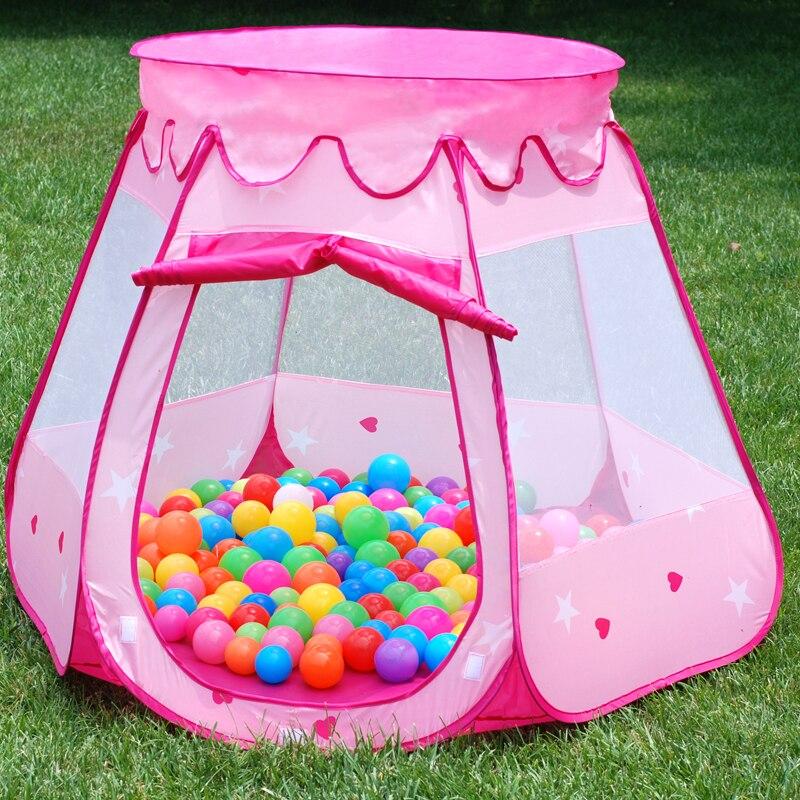 Tente enfant jeu maison jouet d intérieur fille princesse garçon petite tente bébé océan boule piscine maison