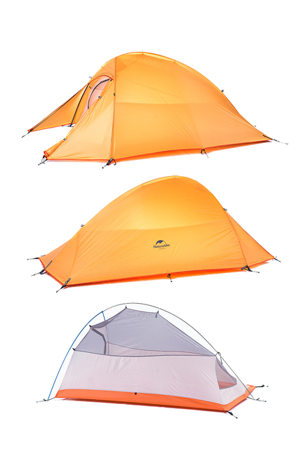 NATUREHIKE Cloud-Up Ultralight 20D Tent