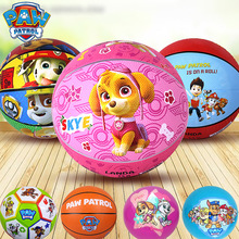 New Arrival Genuine PAW PATROL Leather ball Rubber 18cm Basketball kindergarten for age 2-6 years childrens gift toy