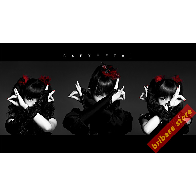 Baby Metal Pictures Canvas Painting Posters Japanese Girl