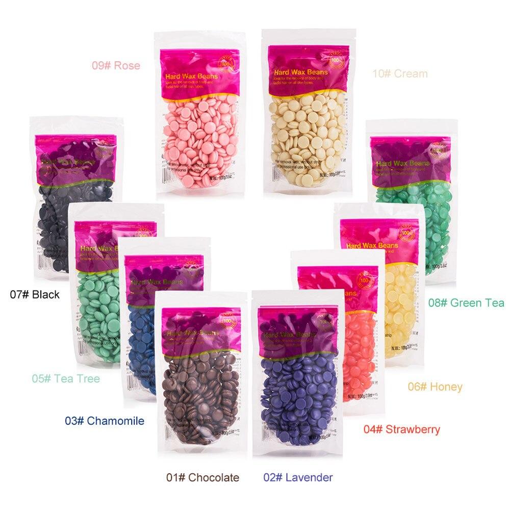 100g Painless Wax Beans Hair Removal Wax Beans Depilatory Wa