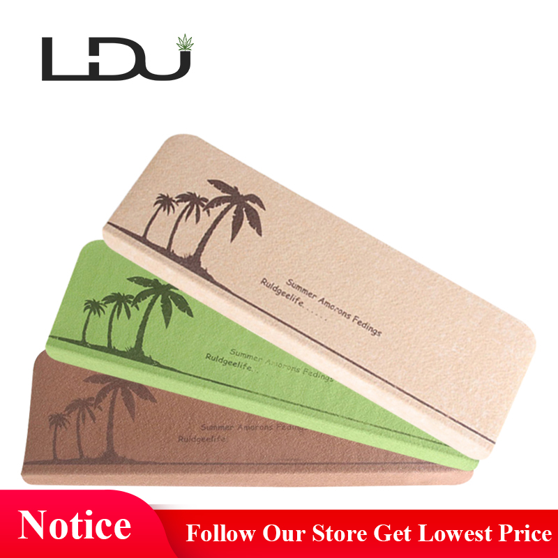 RULDGEE Soft Coconut Tree Pattern Self-adhesive Non-slip Home Stair Carpet for Living Room Stair Mat Protector Rug For Kids