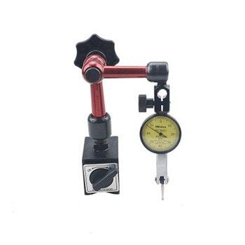 Impermeabile Leva Indicatore di Prova a Quadrante 0.01 millimetri di Alta Precisione Dial Indicator Con Flessibile Magnetic Base In Metallo Dropship